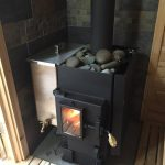 Kuuma Wood Fired Sauna Stove Glass Window