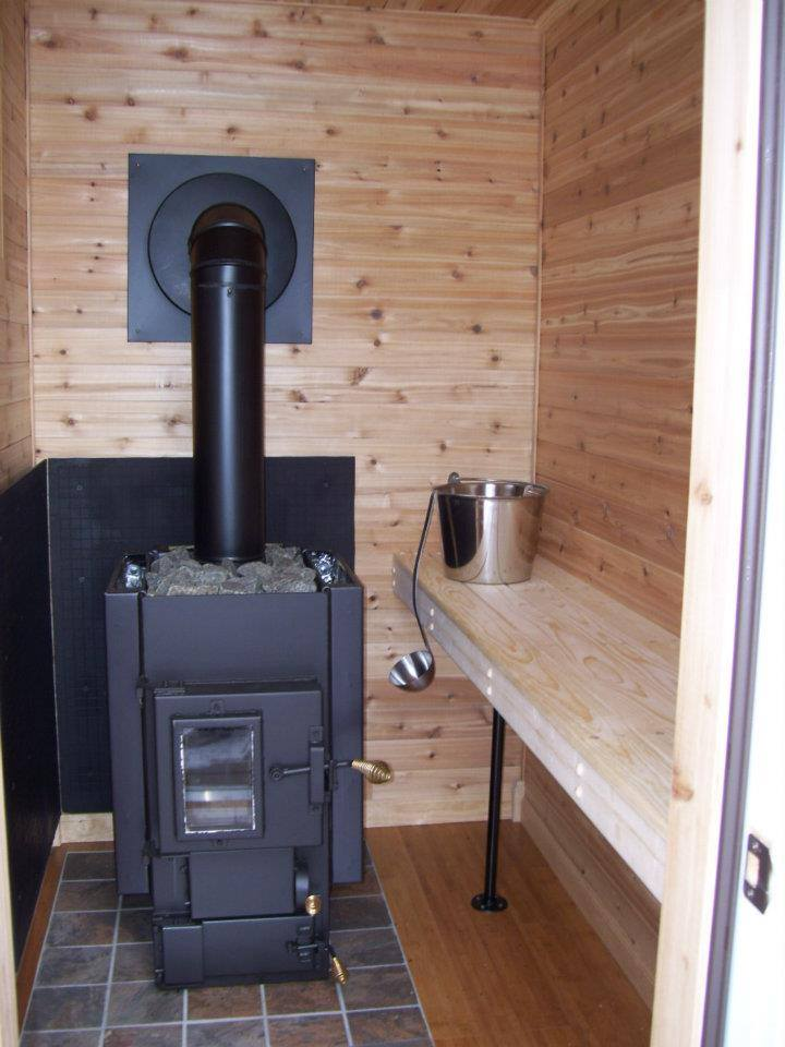 Wood burning sauna stoves electric sauna stoves kuuma for How to build a wood burning sauna stove