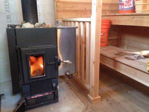 Michael Furlong Kuuma Wood Burning Sauna Stove Kuuma