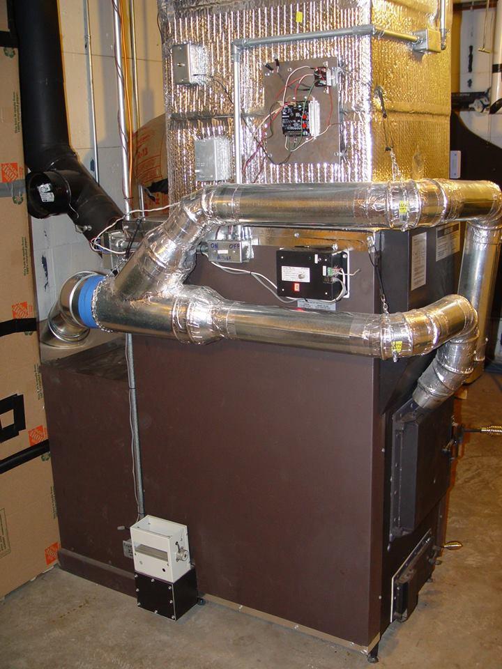 Vapor Fire 100 - High Efficiency Wood Gasification Furnace