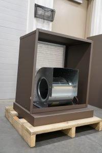 """Kuuma Vapor-Fire 100 """"Inside Blower Box"""""""